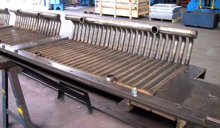 Wage work of bending with CNC-pressure bending machines for tubes up to 88,9 mm