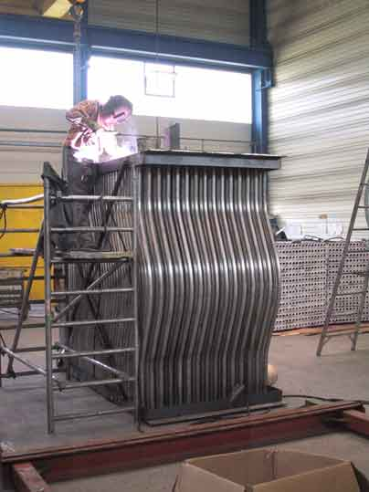 Welding of tube bundles