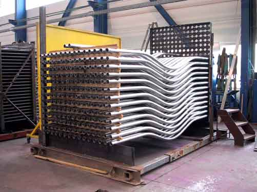 Fabrication of tube bundle of an Air Recuperator