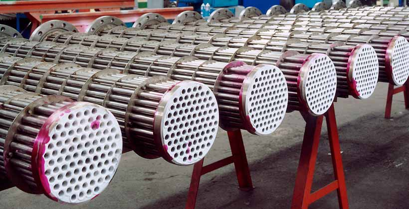 Hydrogen Coolers - Heat exchangers of smooth tubes